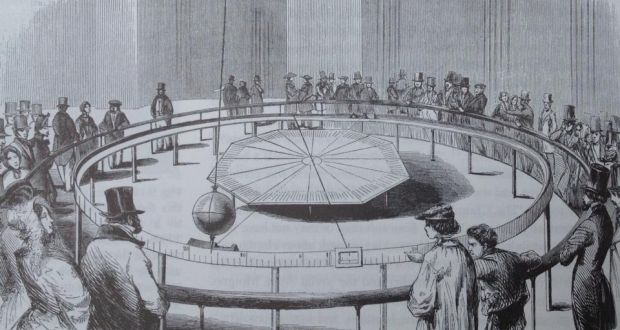 ENTERTAINING HISTORY – The Motion of the Earth and Foucault's Pendulum